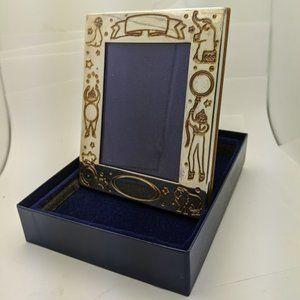 Mikimoto Silver Picture Frame New In Box